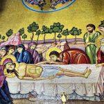 holy shroud mosaic
