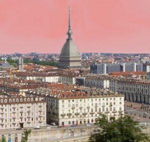 Turin view Mole Antonelliana